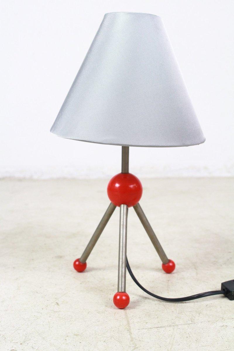 Kleine Vintage Dreibein Tischlampe
