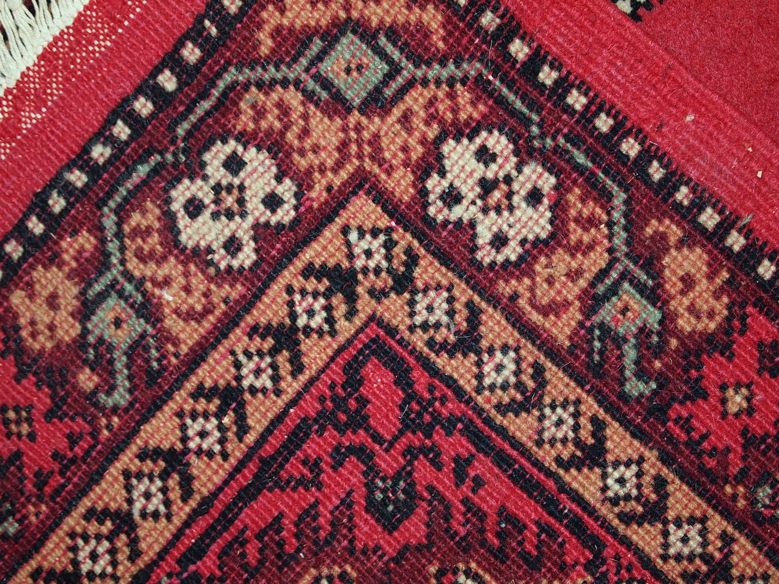 Vintage Handmade Algerian Berber Rug 1970s For Sale At Pamono