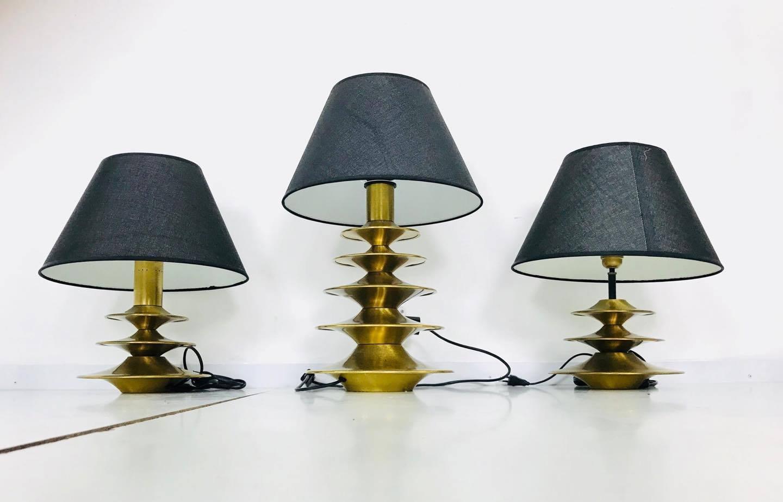 Vintage Lampen von Lamperti, 3er Set