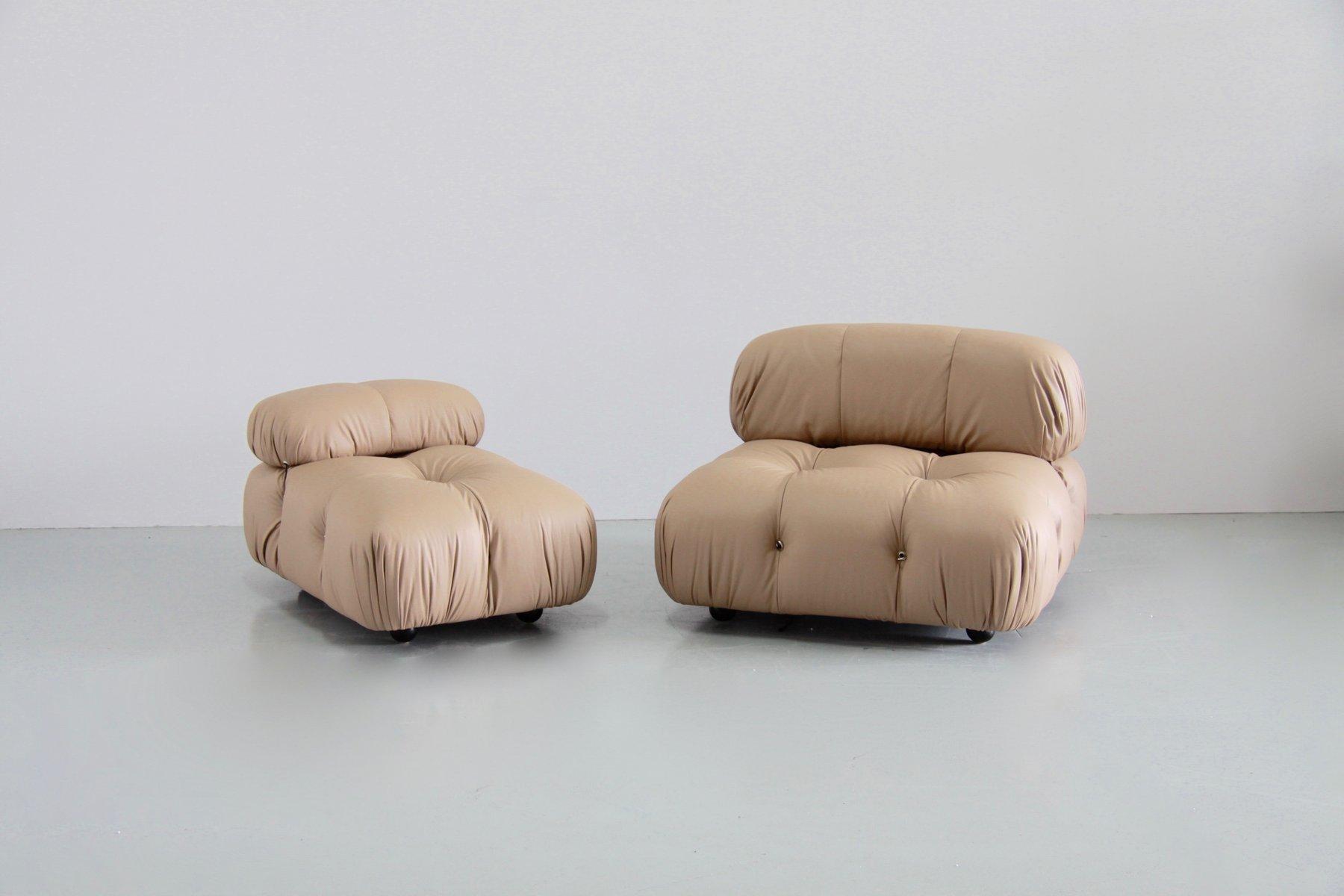 Vintage Camaleonda Modular Lounge Sofa By Mario Bellini For B Italia 1970s