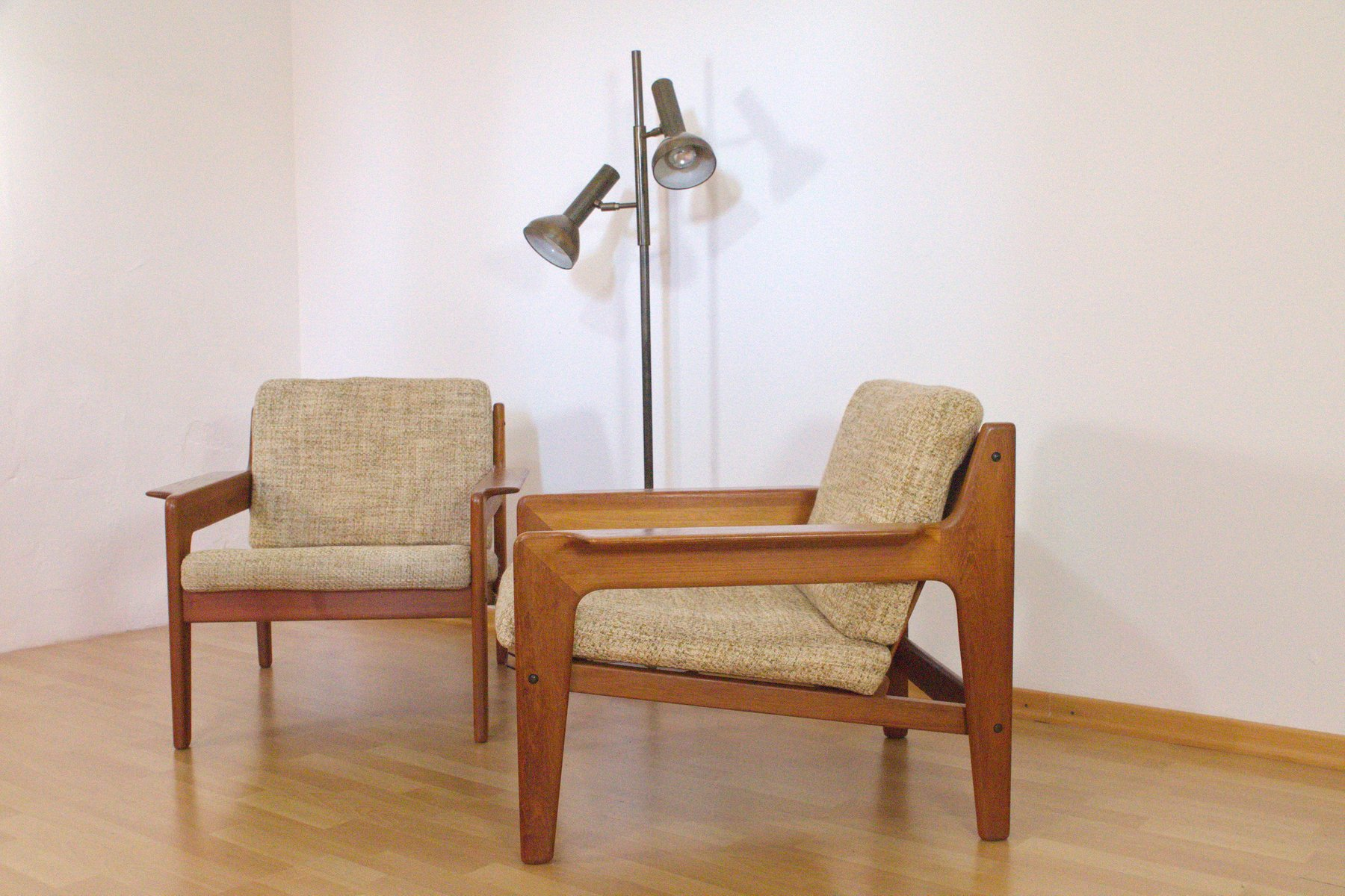 Ganz und zu Extrem Dänische Teak Sessel von Arne Wahl Iversen für Komfort, 1960er #TN_18