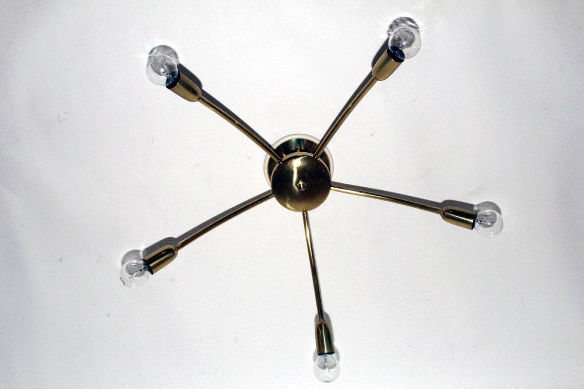 Vintage Deckenlampe von Rupert Nikoll