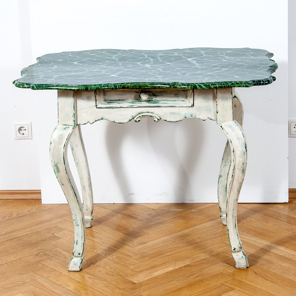 19th Century Louis Xv Style Baroque Side Table For Sale At Pamono