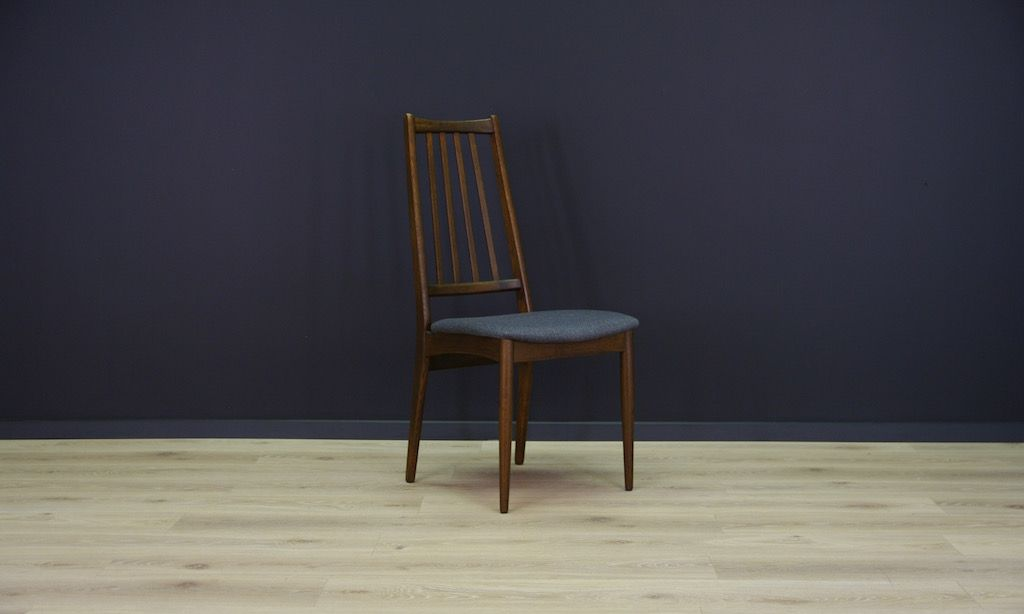 d nische mid century eichenholz st hle 4er set bei pamono kaufen. Black Bedroom Furniture Sets. Home Design Ideas