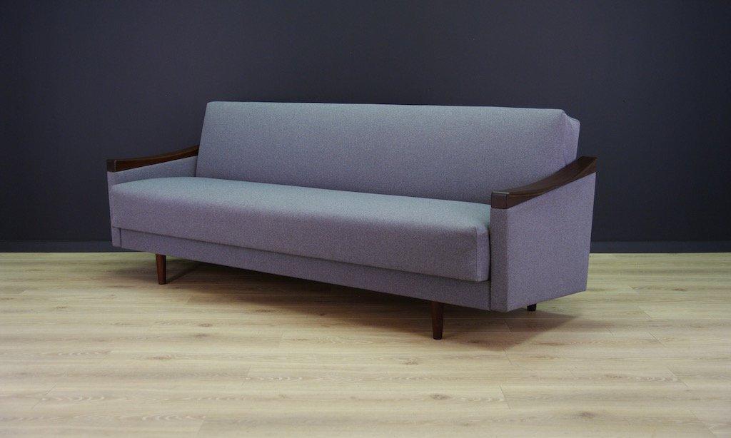d nisches mid century teak sofa bei pamono kaufen. Black Bedroom Furniture Sets. Home Design Ideas