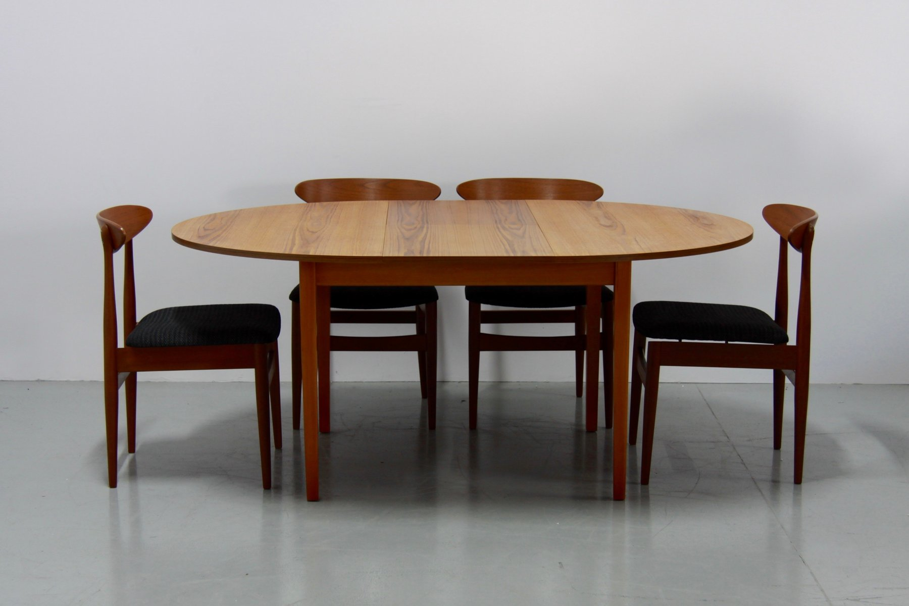 Vintage Danish Extendable Teak Dining Table, 1960s for ...