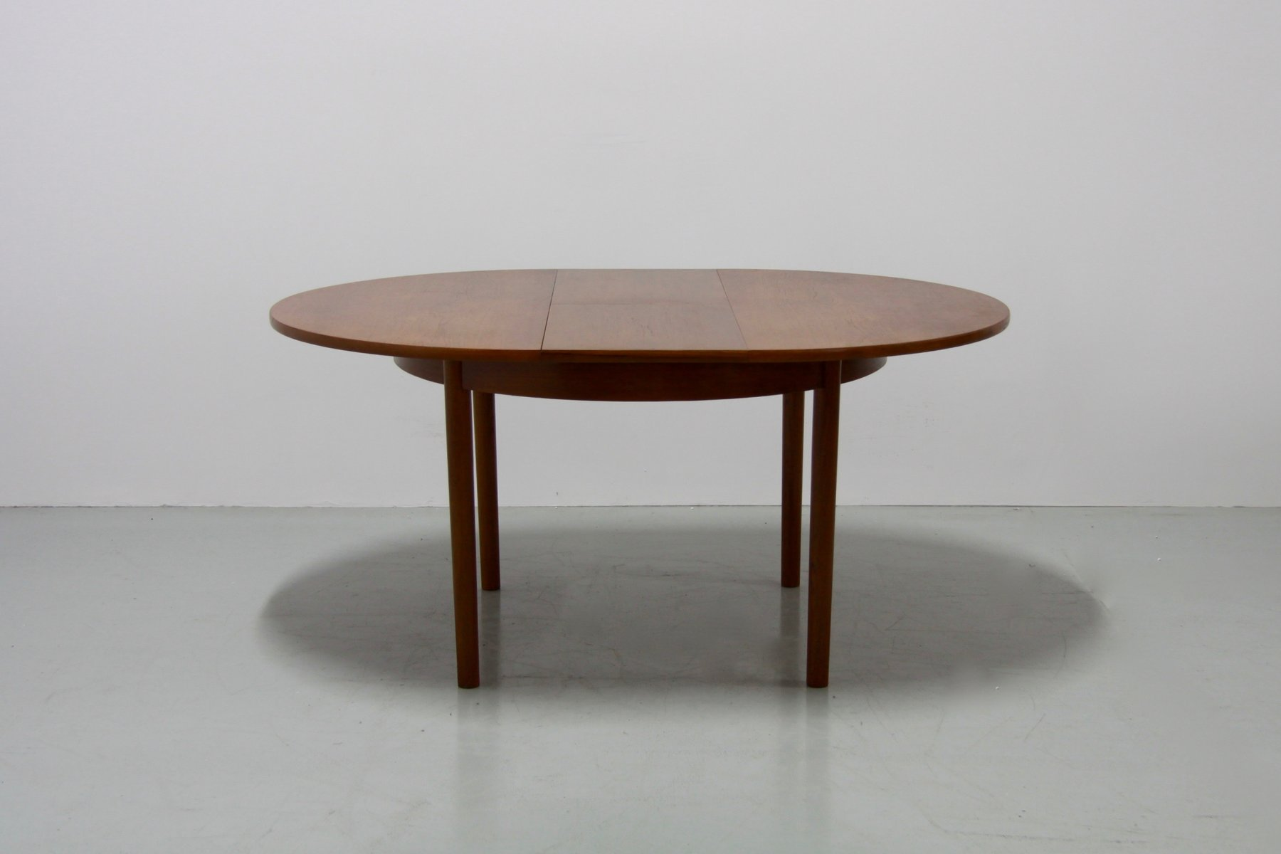 Mid Century Extendable Teak Dining Table From Vanson 1960s