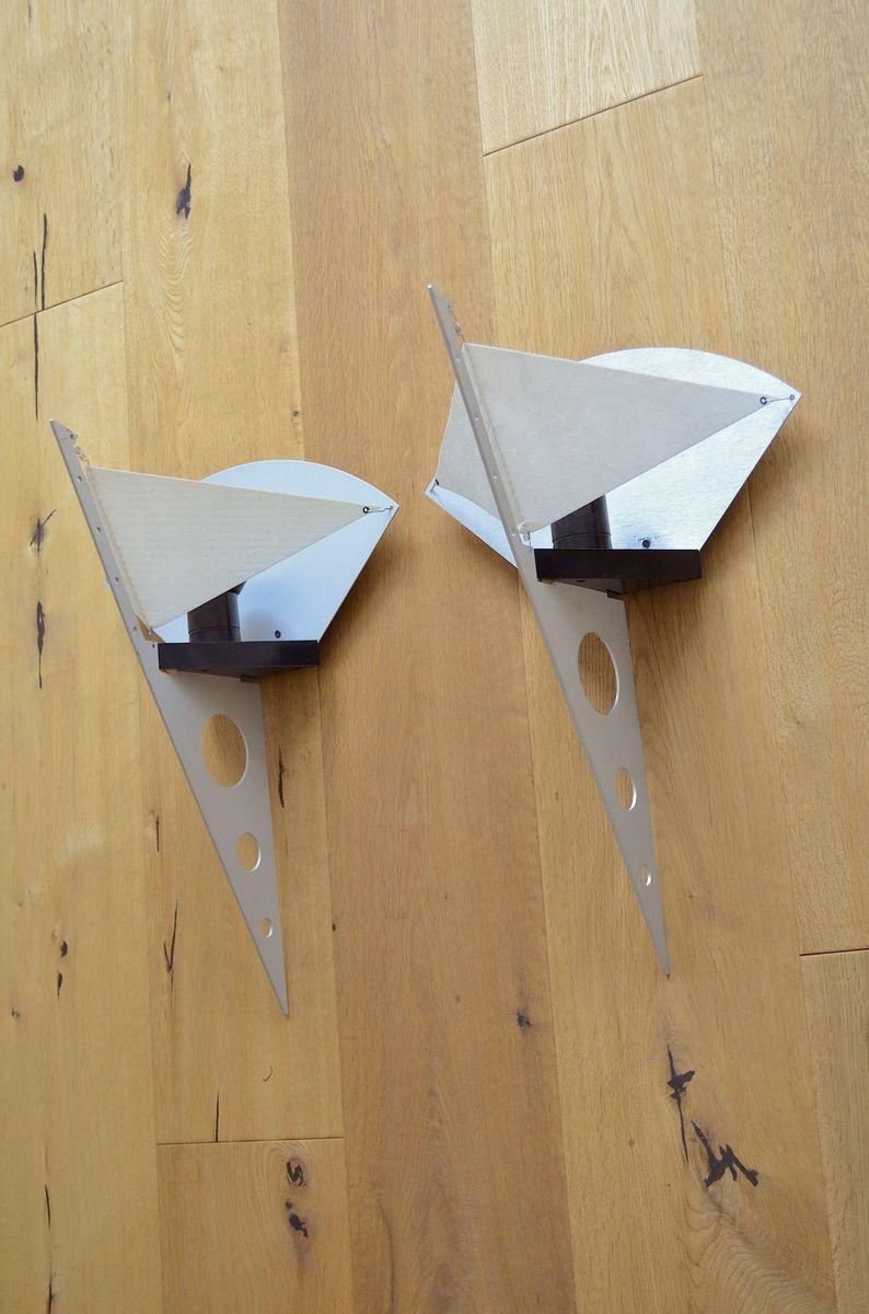Vintage Filicudara Wandlampen von Steve Lombardi für Artemide, 2er Set