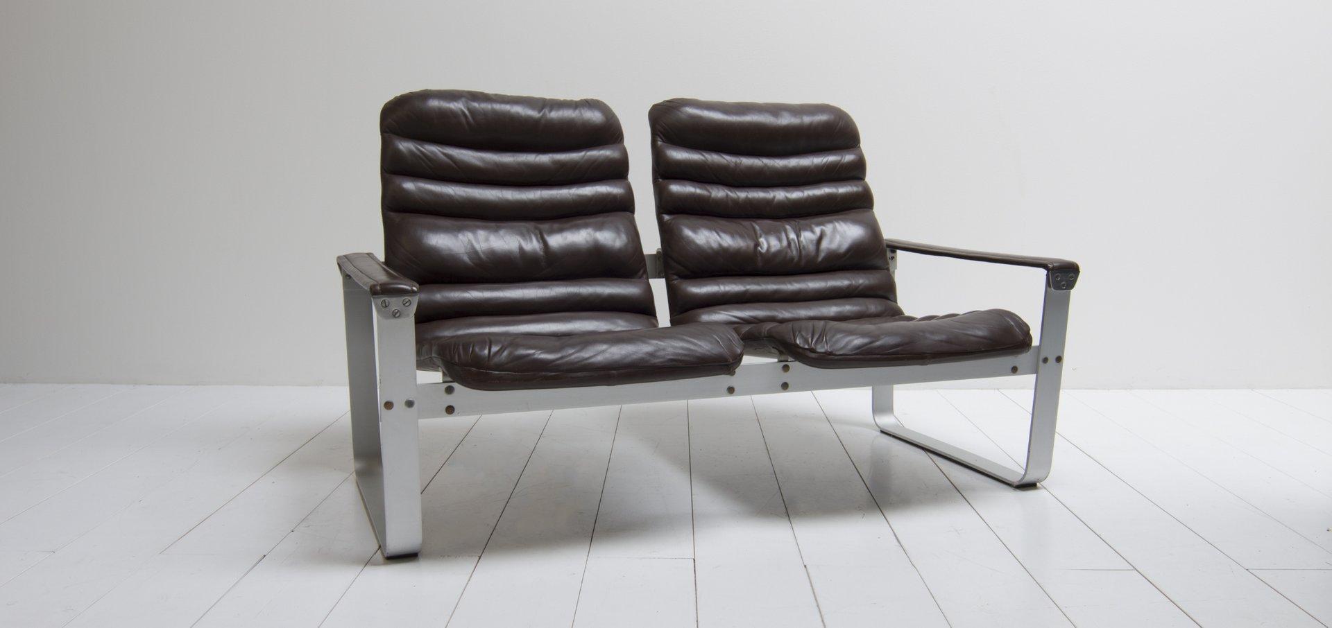 vintage modell pulkka sofa von ilmari lappalainen f r asko bei pamono kaufen. Black Bedroom Furniture Sets. Home Design Ideas