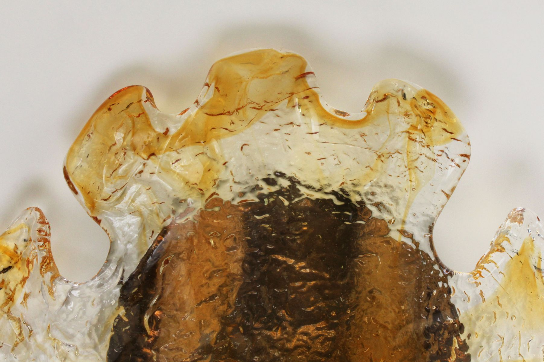 Murano Glass Wall Sconces from Mazzega, 1970s, Set of 2 for sale at ...