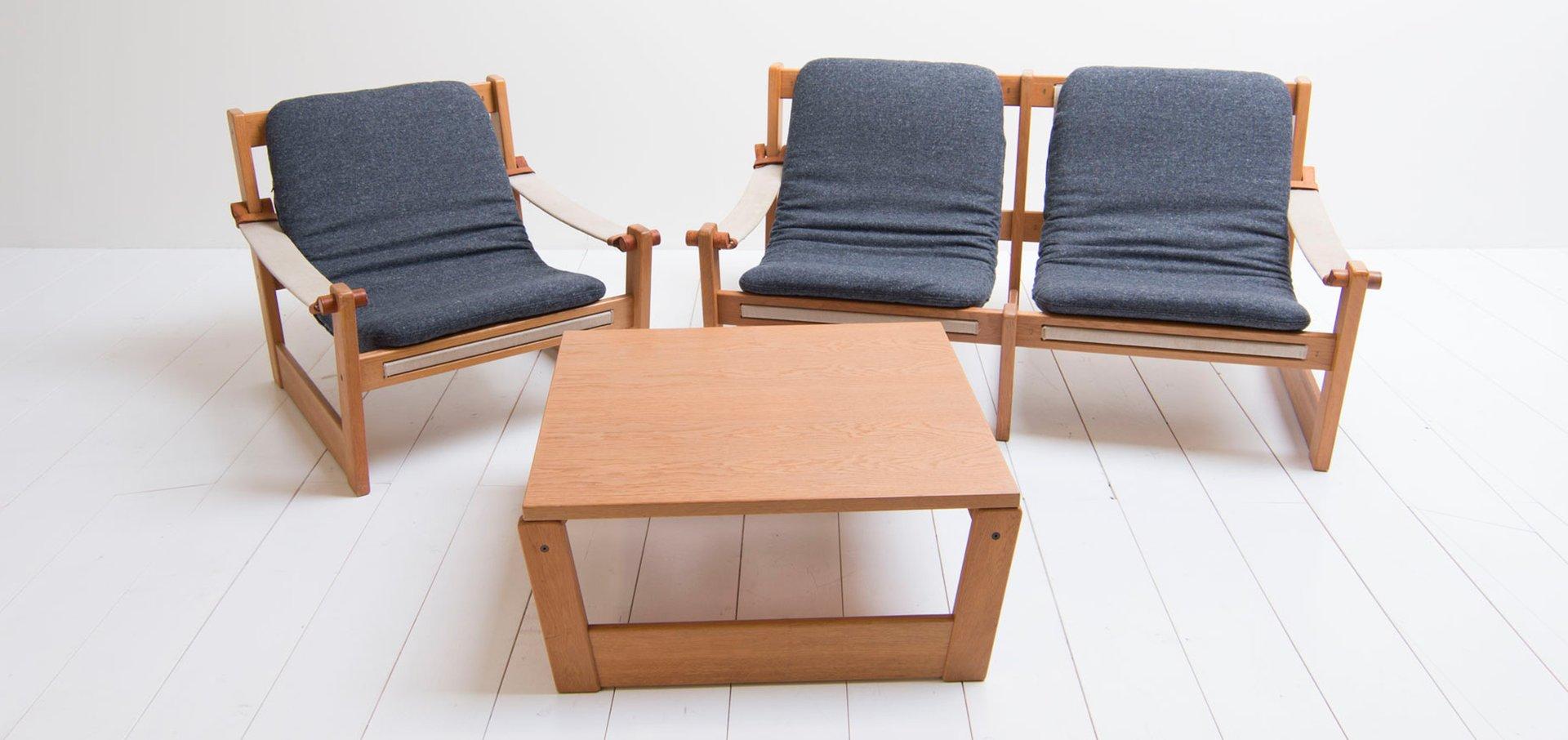 Vintage Living Room Set By Yngve Ekström For Swedese