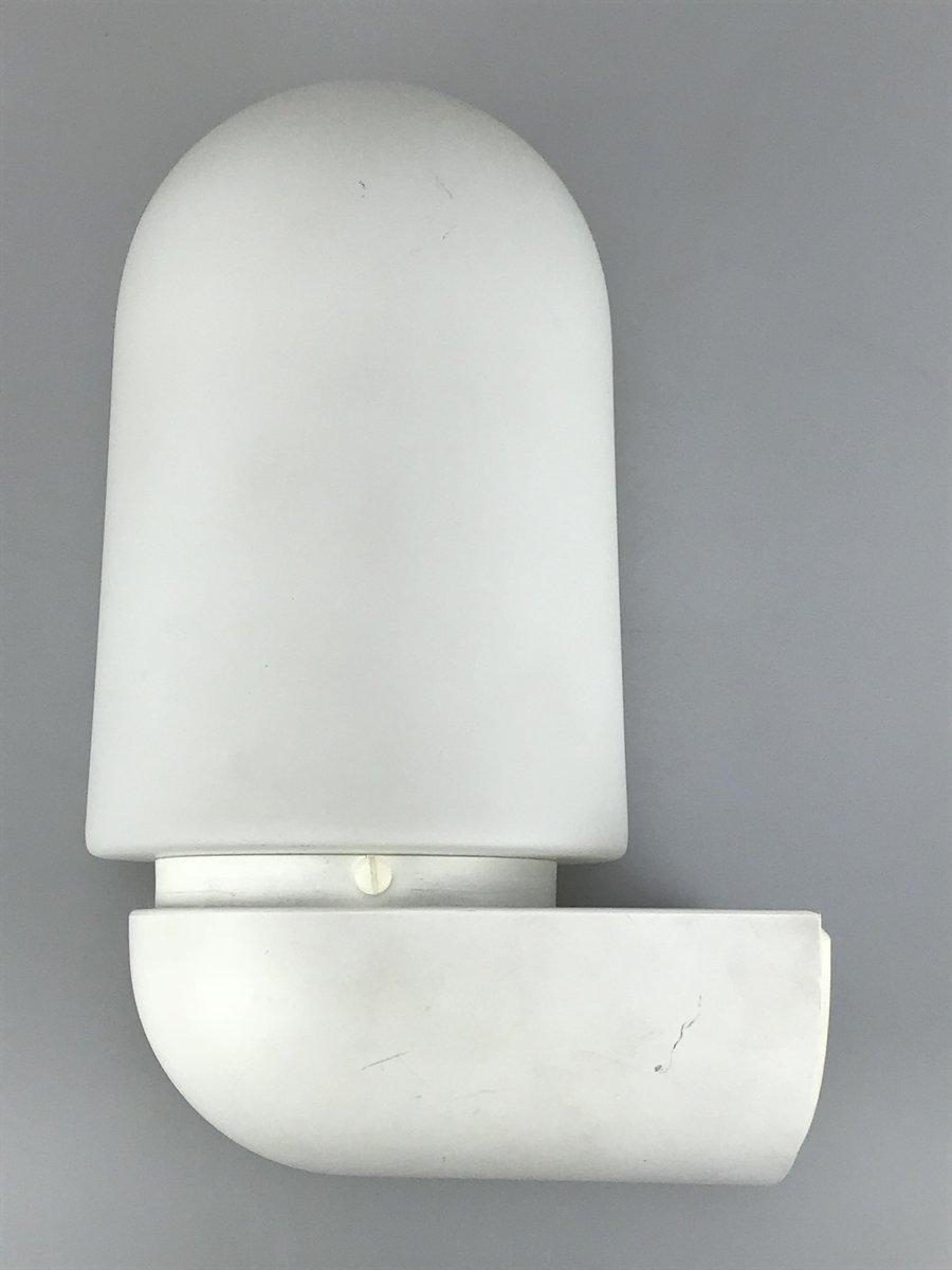 Glas & Plastik Wandlampe von Limburg, 1960er