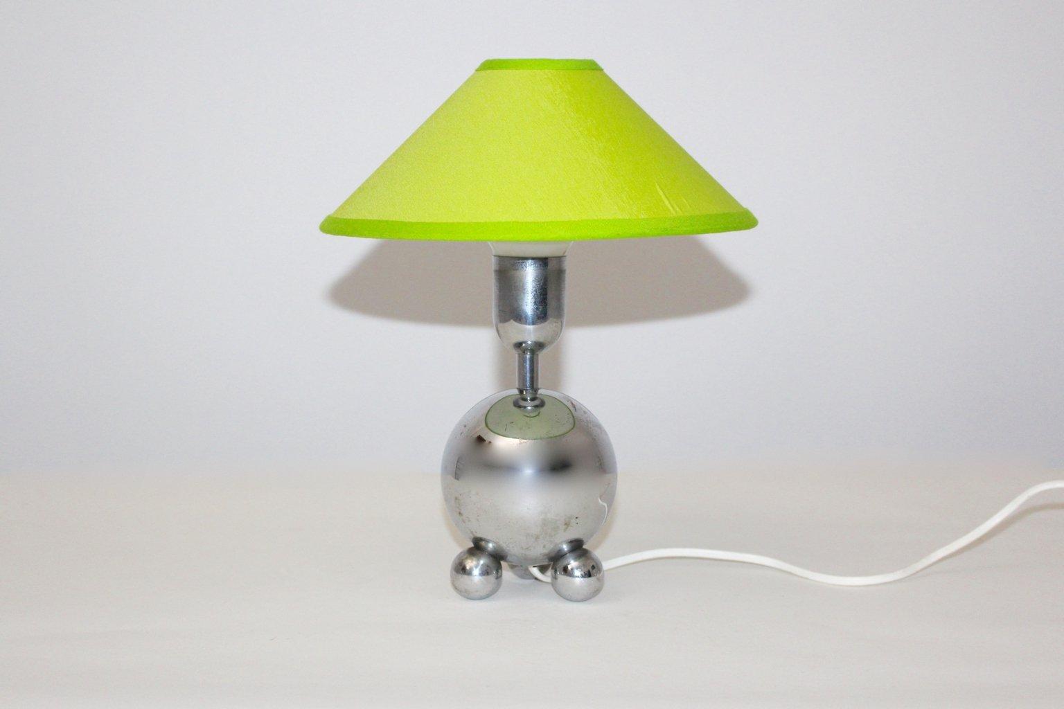 Lampe de bureau chrom e 1950s en vente sur pamono - Lampe de bureau style anglais ...