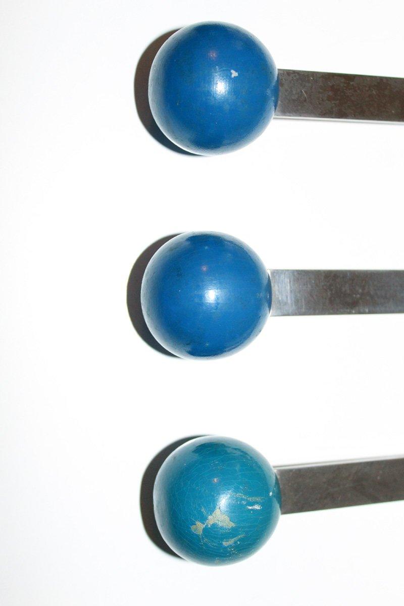 Vintage bauhaus wandhaken 6er set bei pamono kaufen - Vintage wandhaken ...