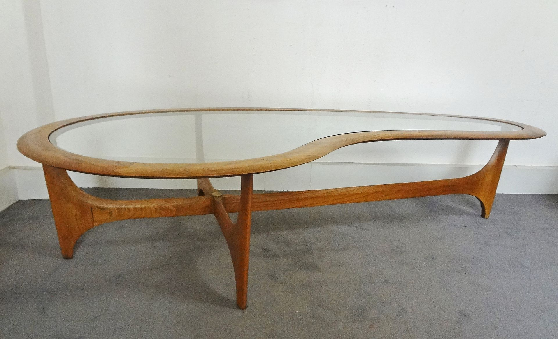 Large Coffee Table By Adrian Pearsall For Lane 1960s
