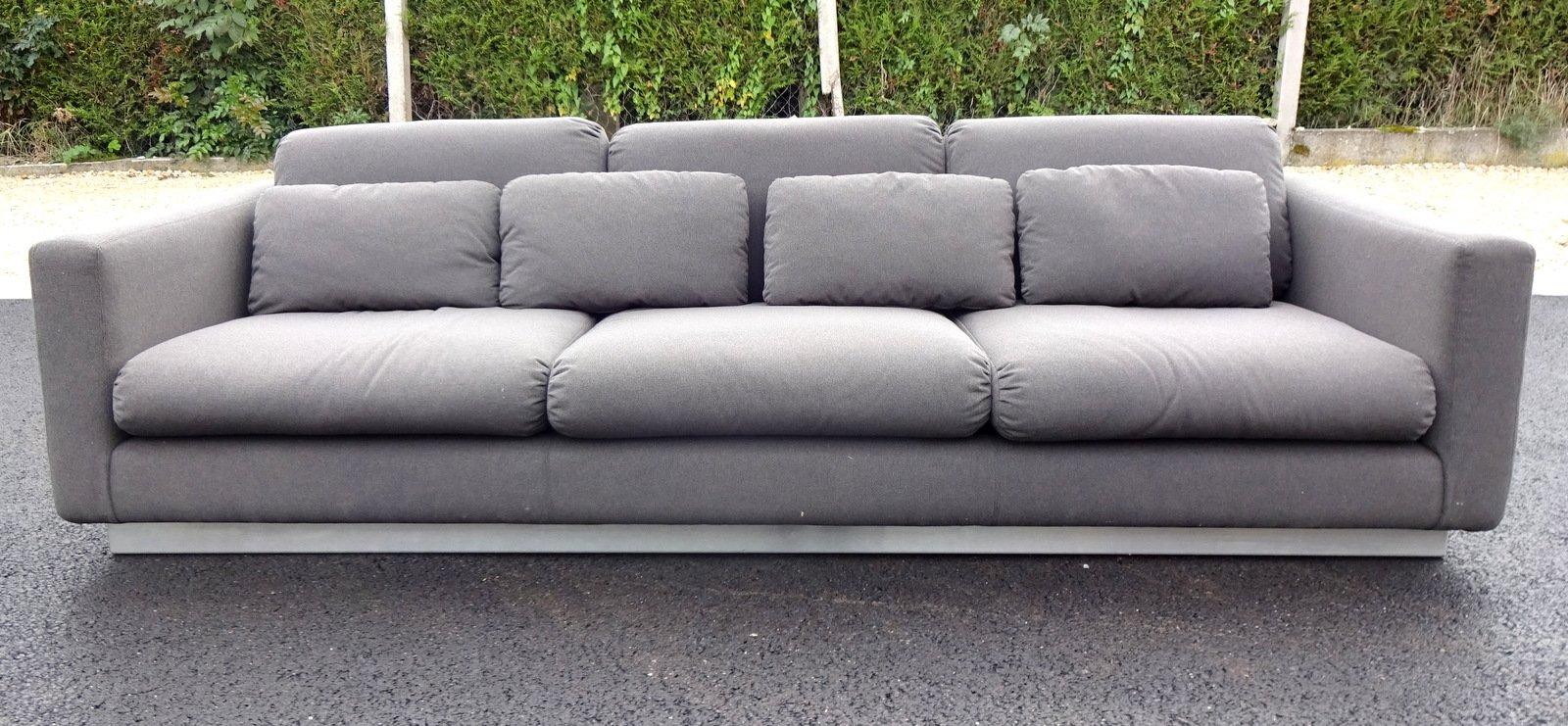 grey sofa 1970s for sale at pamono. Black Bedroom Furniture Sets. Home Design Ideas