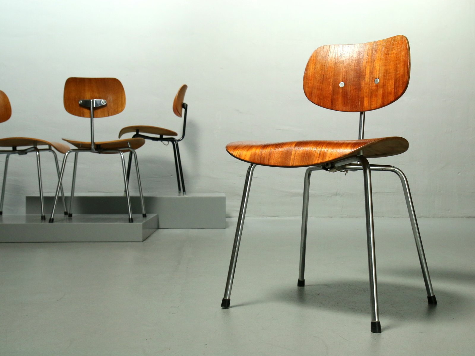 se 68 teak stuhl von egon eiermann f r wilde spieth 1960er bei pamono kaufen. Black Bedroom Furniture Sets. Home Design Ideas