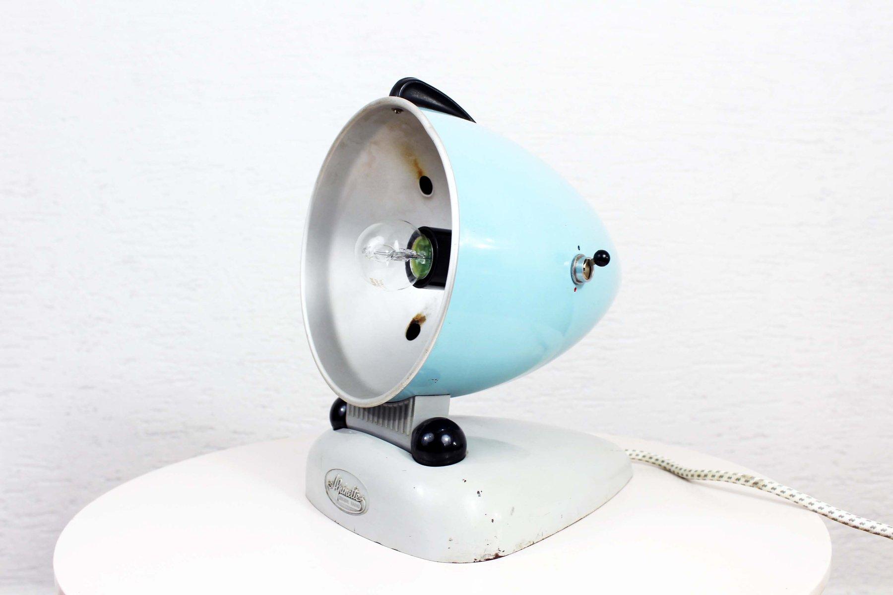 Vintage Alpinette Lampe von Hanau, 1950er