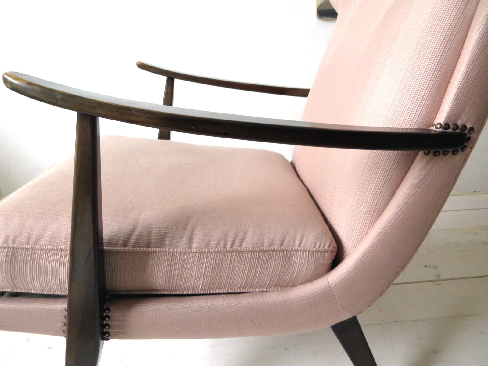Armchair By Walter Knoll For Knoll Antimott 1950s For