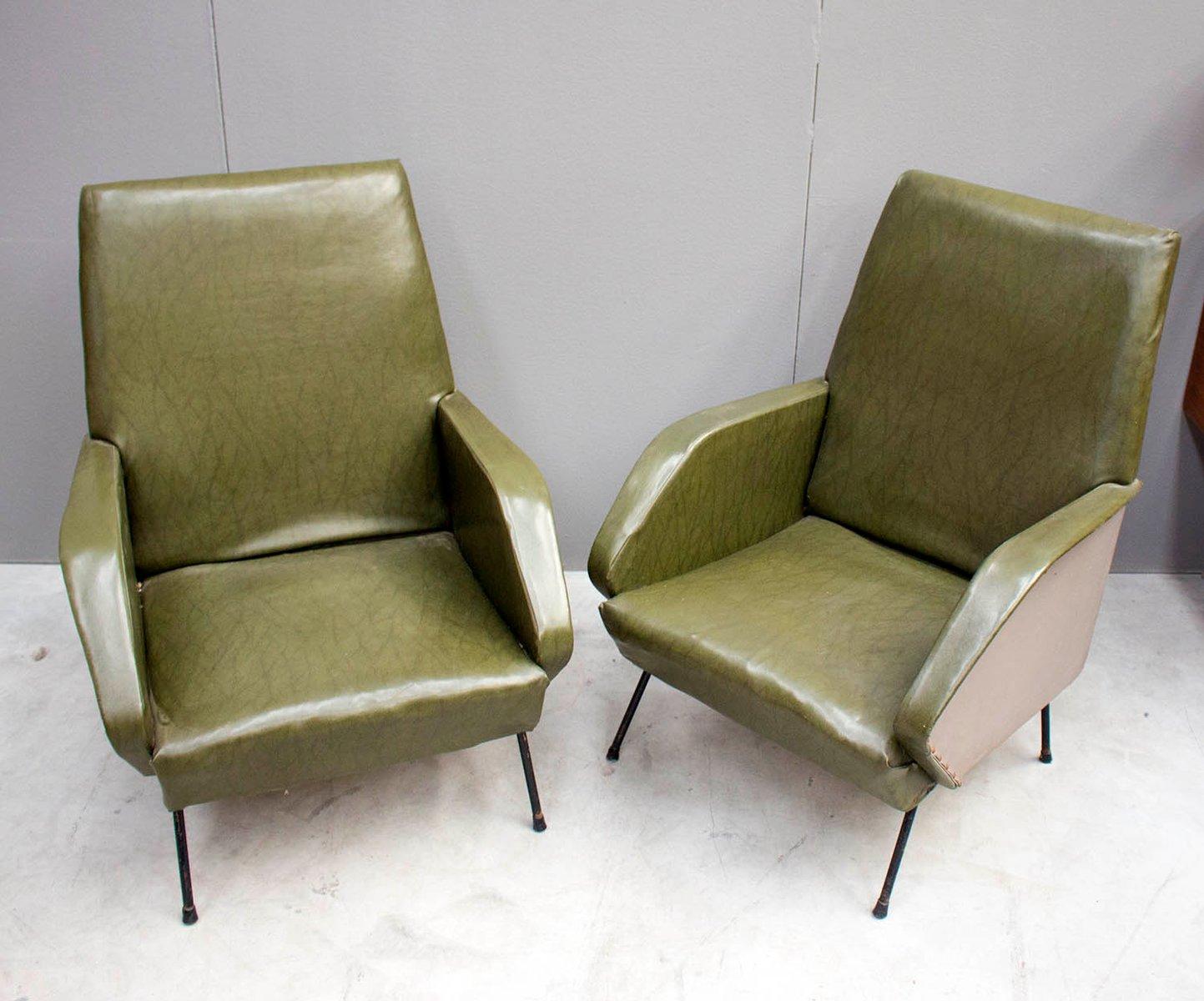 Italienische Sessel 1960er 2er Set Bei Pamono Kaufen