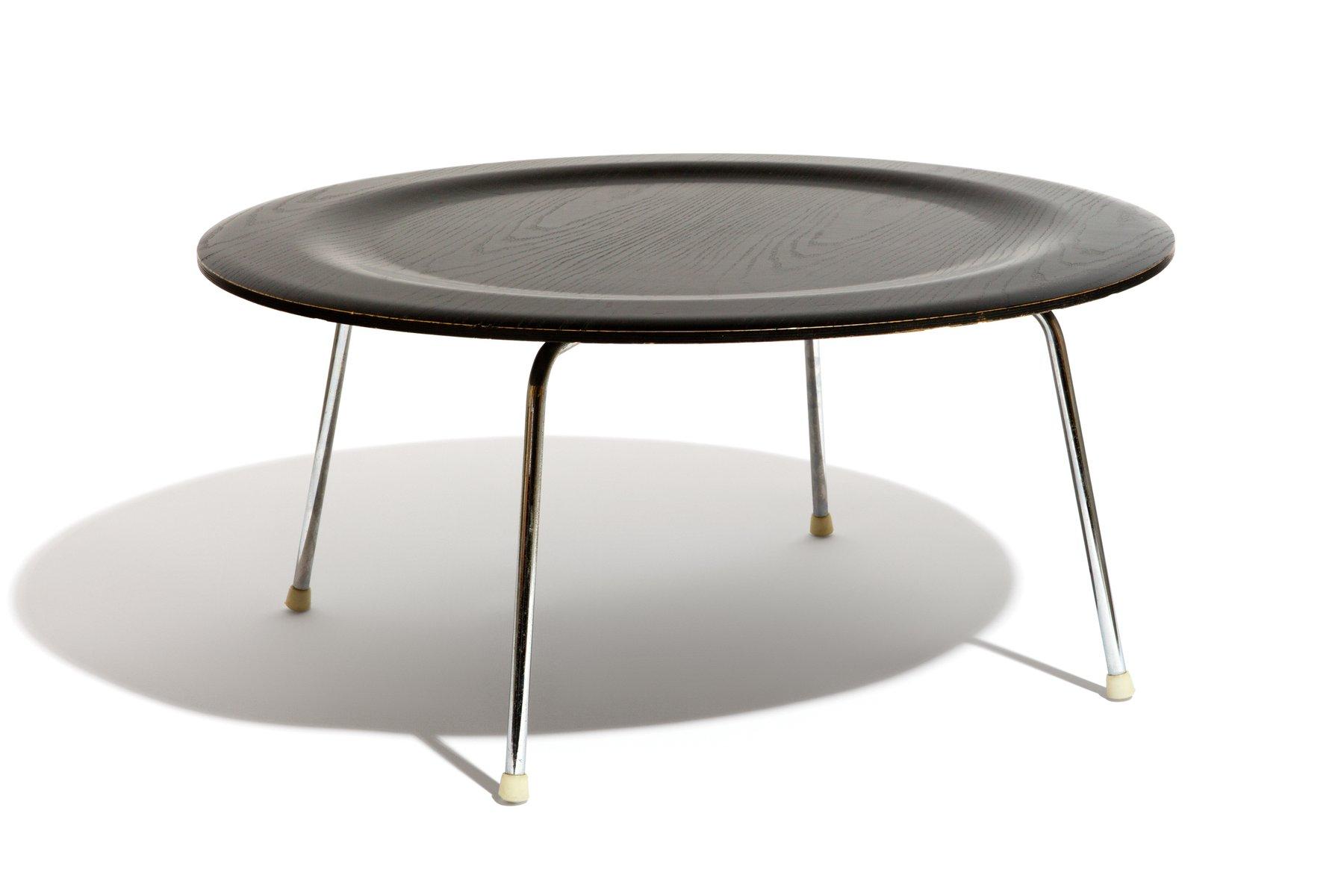 table basse ctm par ray charles eames pour vitra 1970s en vente sur pamono. Black Bedroom Furniture Sets. Home Design Ideas