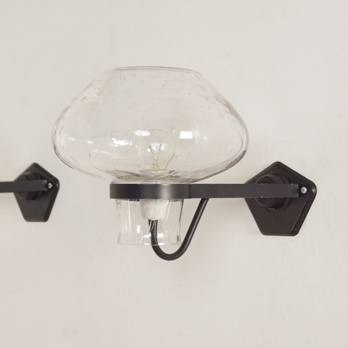 Wall lamps by gunnar asplund for asea 1960s set of 2