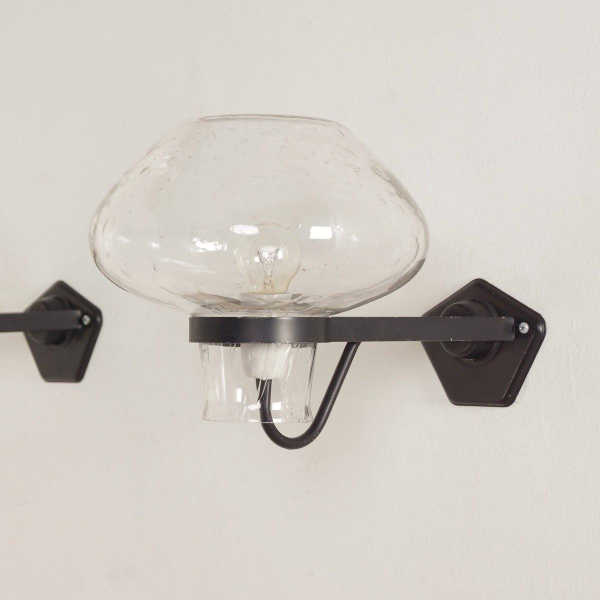 Wandlampen von Gunnar Asplund für ASEA, 1960er, 2er Set
