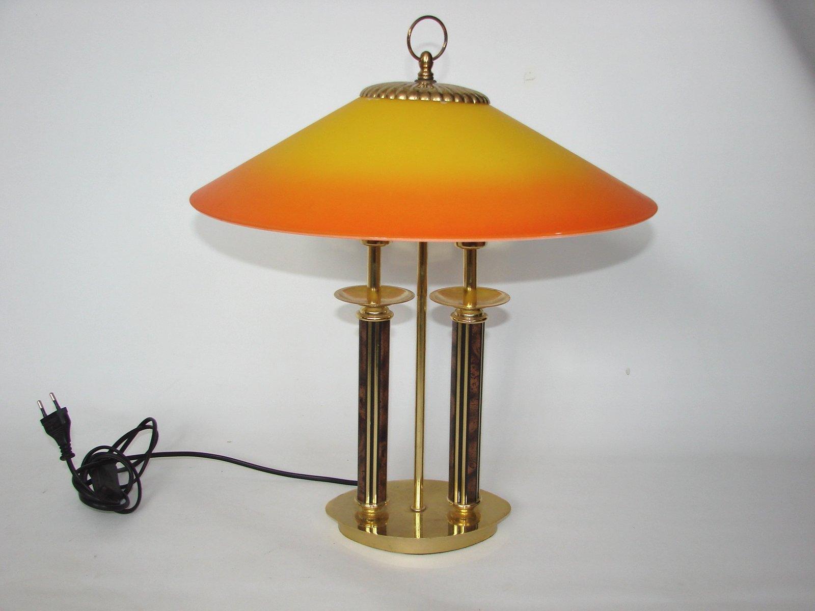 Art Deco Lampe, 1970er