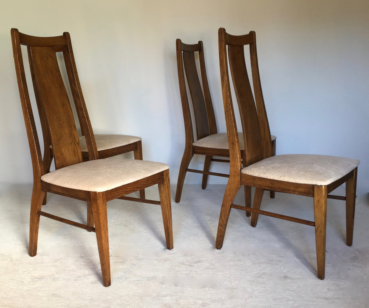 Superbe American Chairs From Garrison Furniture Company, 1960s, Set Of 4