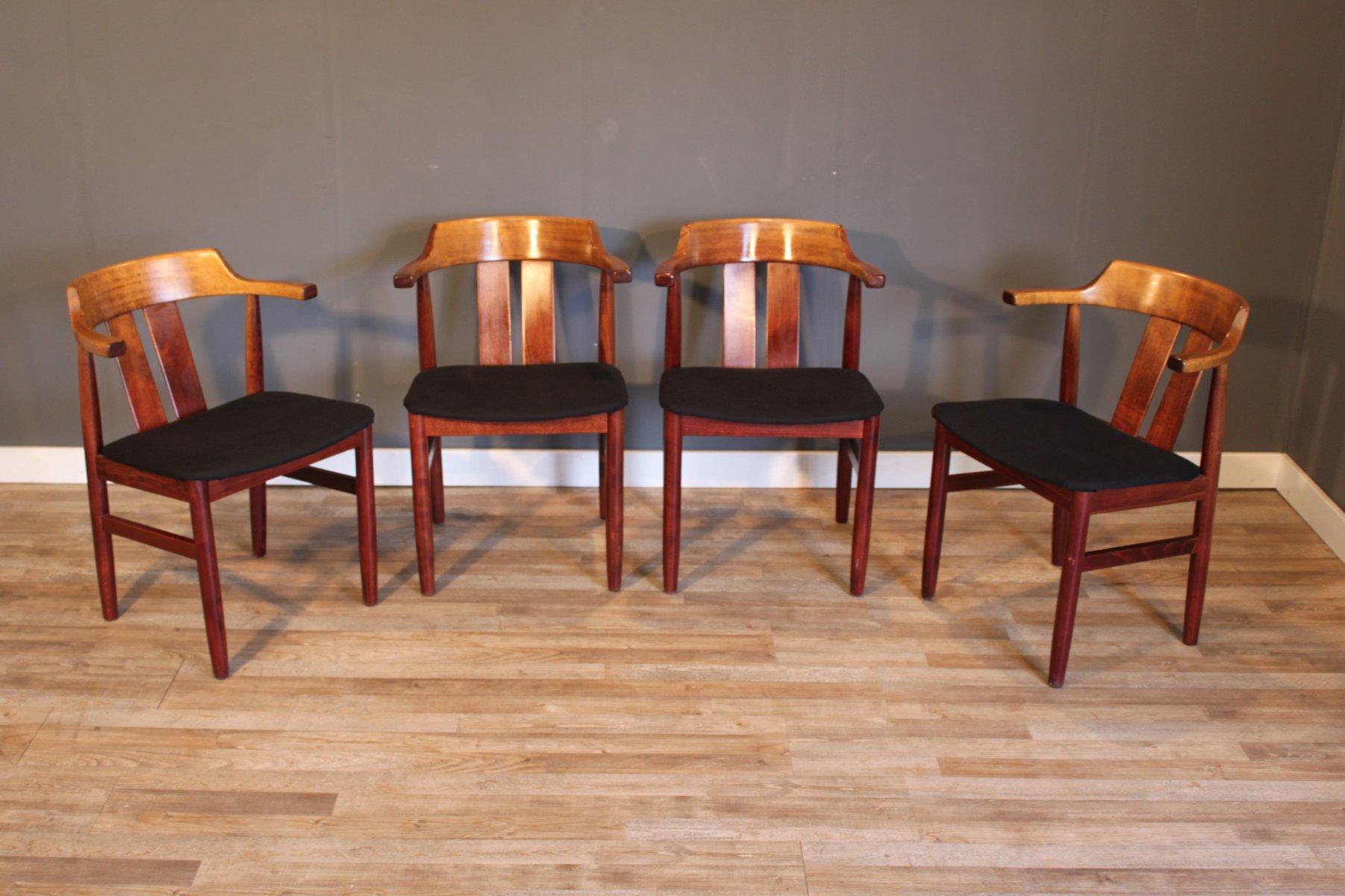 Schwedische Vintage Stühle Von Gemla Møbler 1974 4er Set Bei