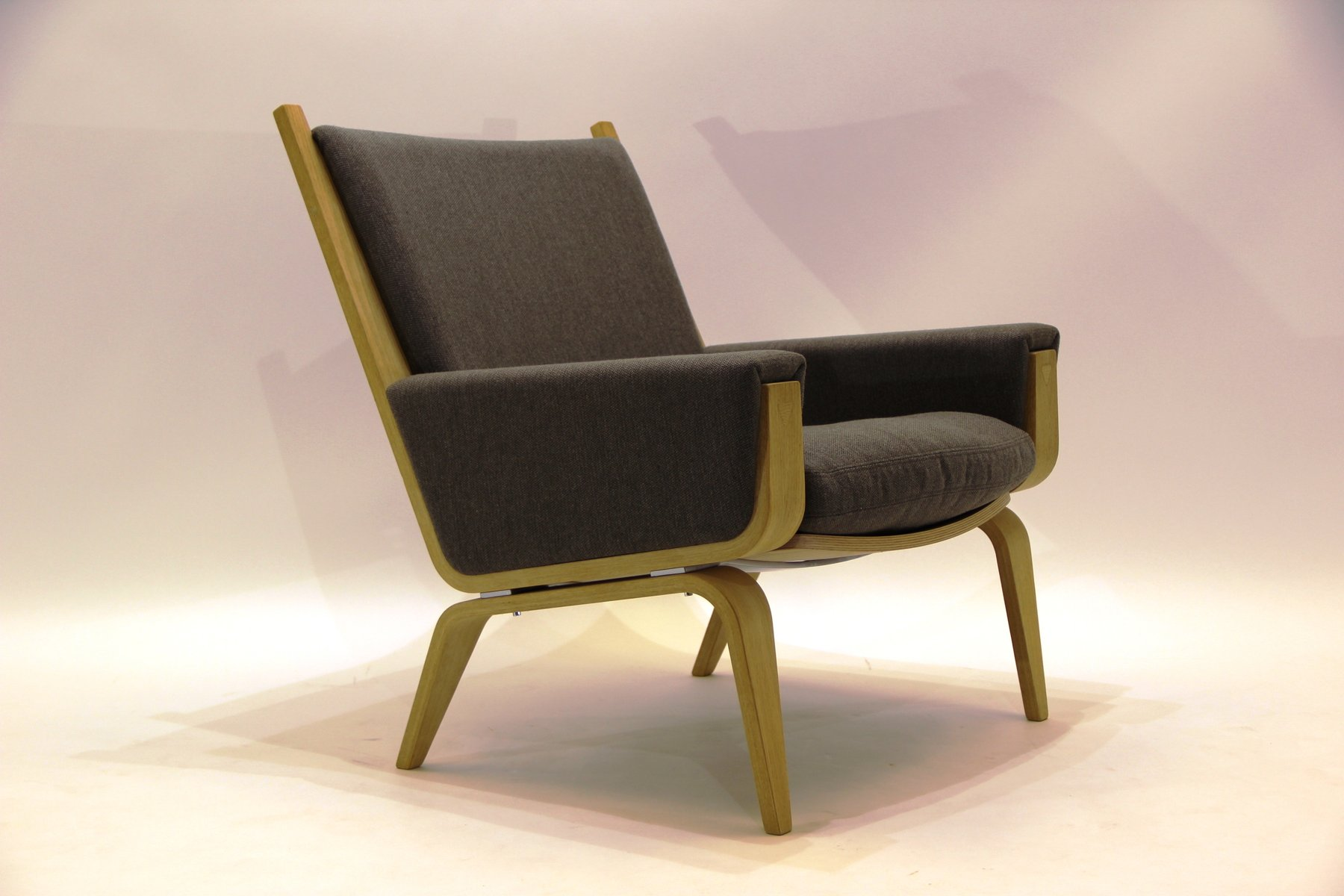 ge 501a sessel von hans j wegner f r getama 1967 bei pamono kaufen. Black Bedroom Furniture Sets. Home Design Ideas