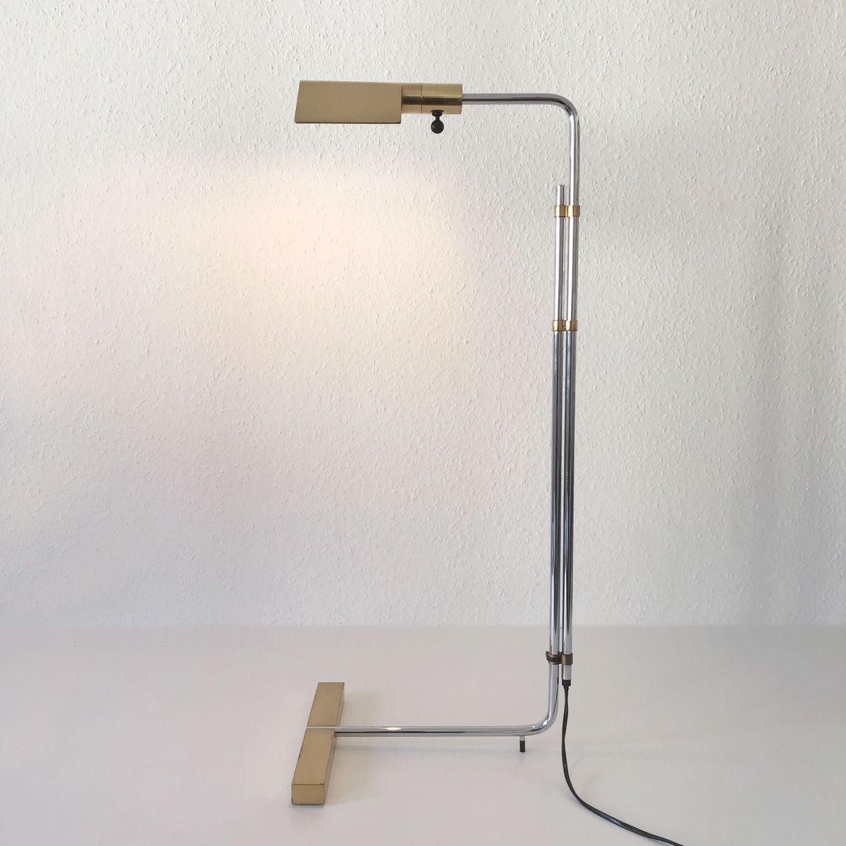Mid-Century Modern Backslider Stehlampe von Cedric Hartman für Jack Le...