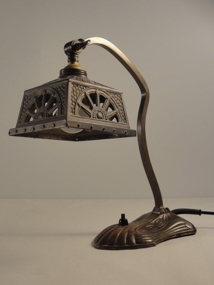 Jugendstil Tischlampe, 1900er