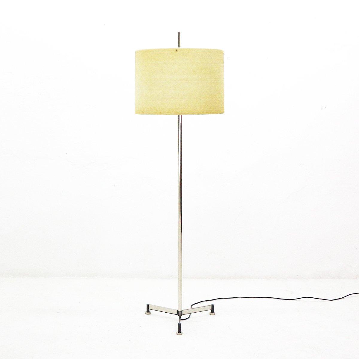Dreibein Stehlampe, 1960er