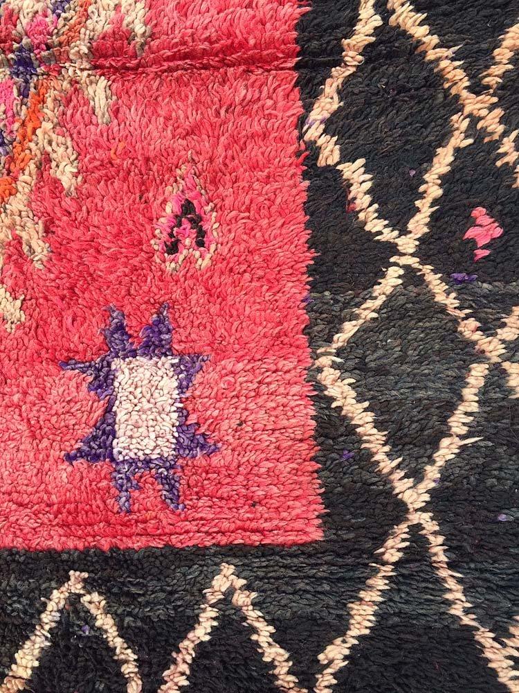 gro er marokkanischer vintage boujad teppich 1970er bei pamono kaufen. Black Bedroom Furniture Sets. Home Design Ideas