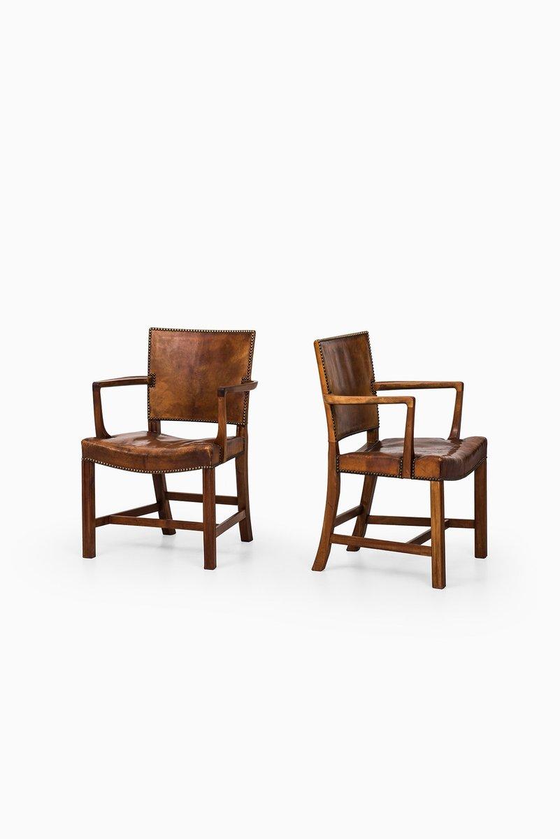 Vintage Modell 3758A Sessel von Kaare Klint für Rud. Rasmussen, 1930er...