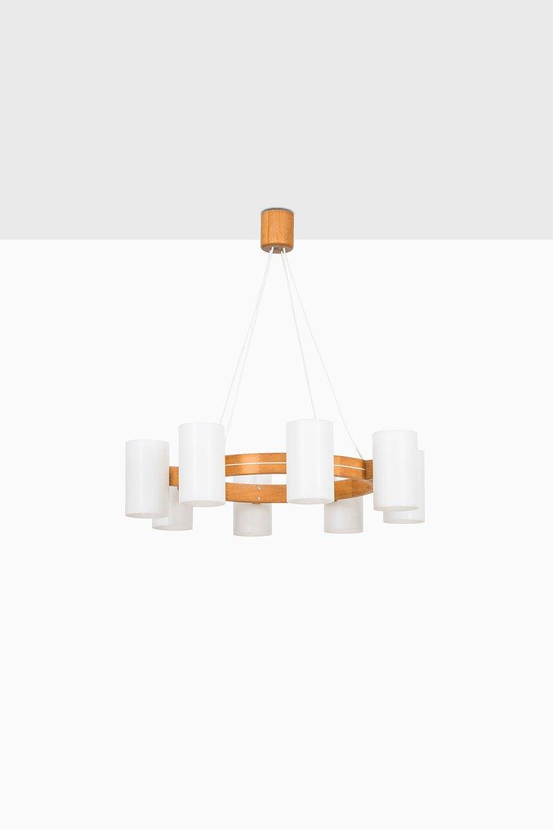 Deckenlampe von Uno & ÖSten Kristiansson für Luxus, 1960er