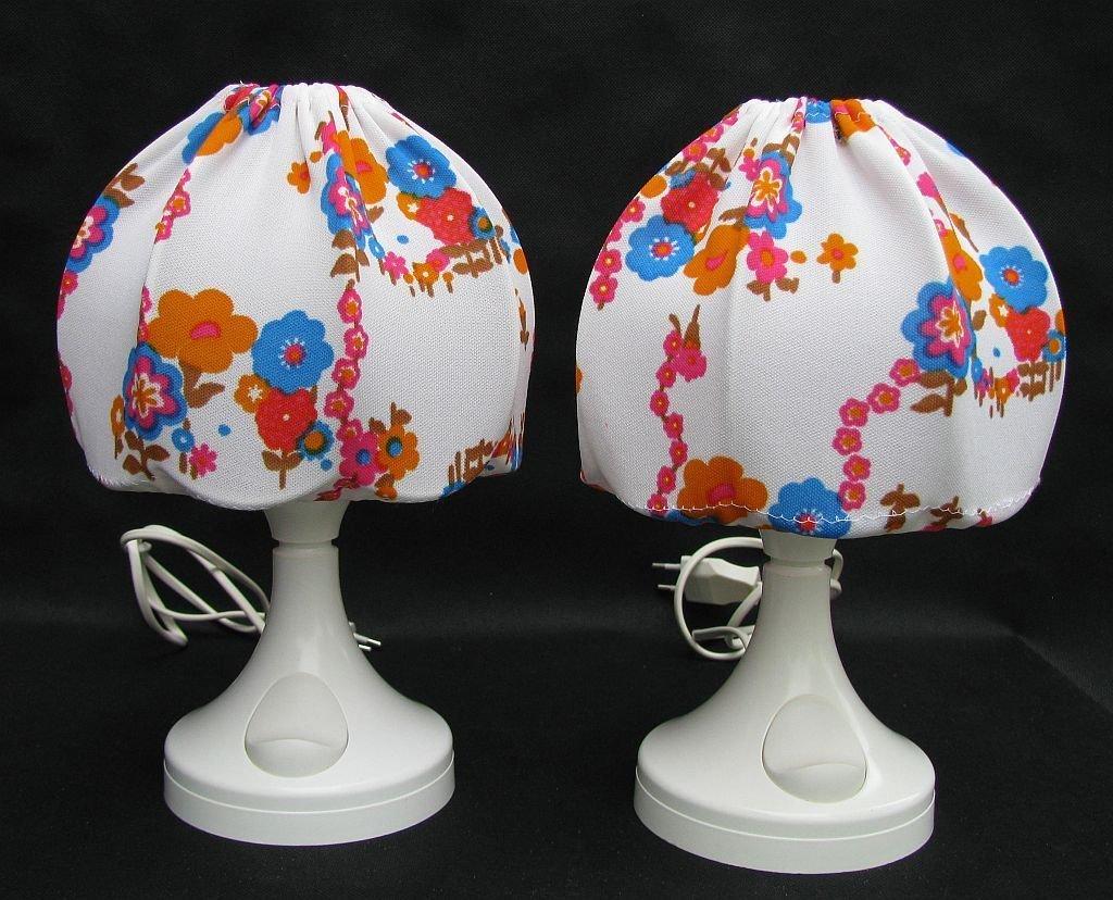 Vintage Nachtlampen von Bonalux, 2er Set