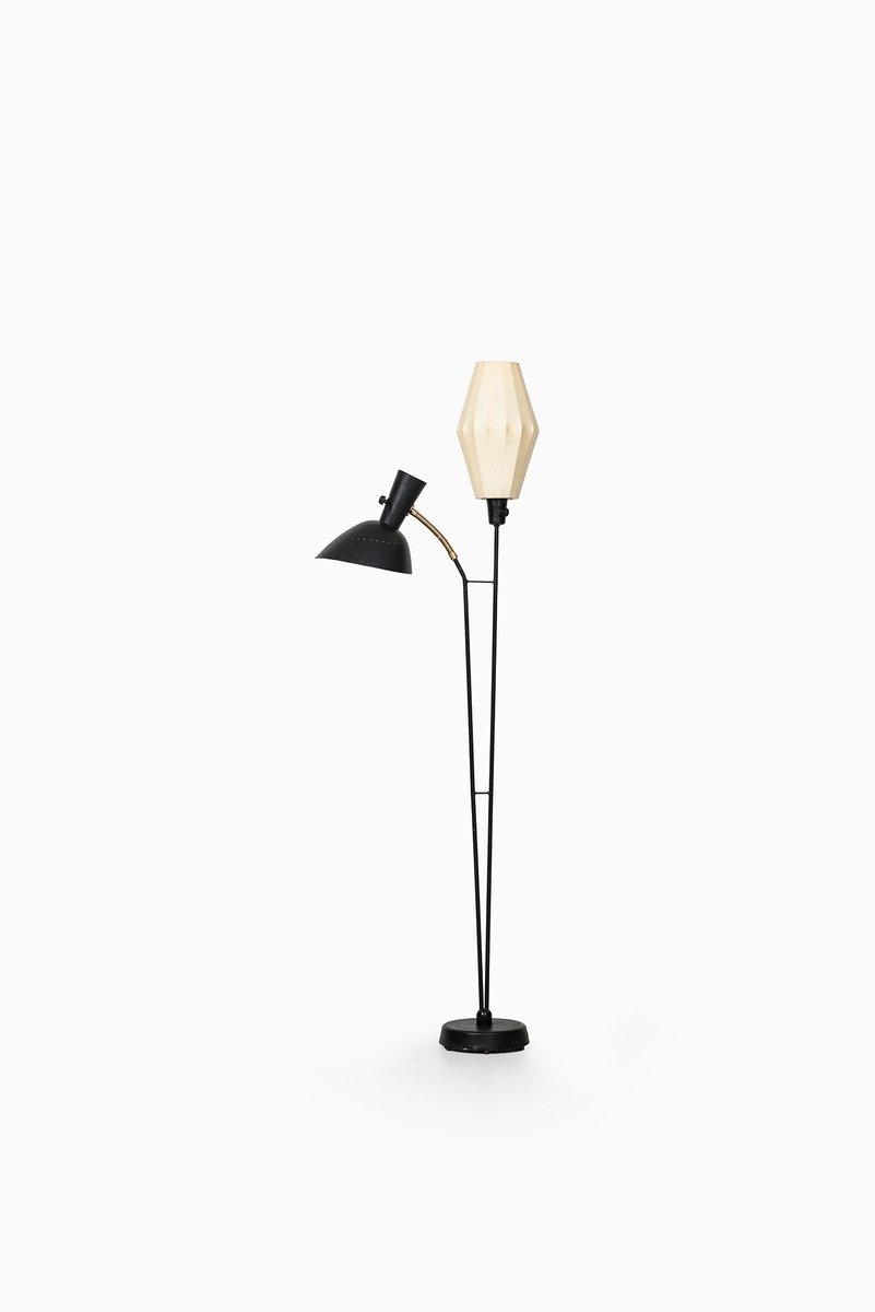 Schwedische Stehlampe von Hans Bergström für Ateljé Lyktan, 1950er