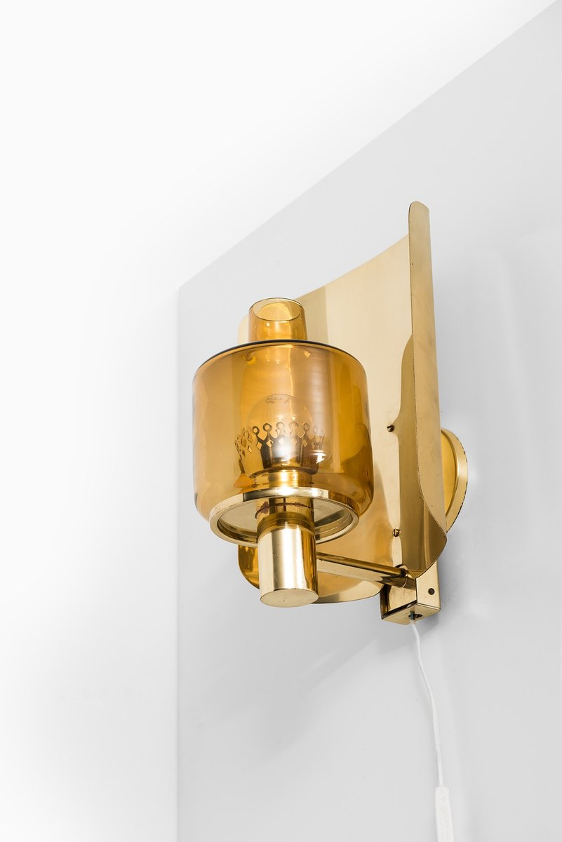 Mid-Century V-222 Wandlampe von Hans-Agne Jakobsson, 1960er
