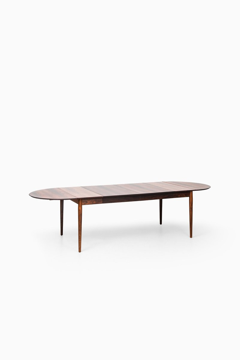 Modell 227 Esstisch aus Palisander von Arne Vodder für Sibast, 1950er