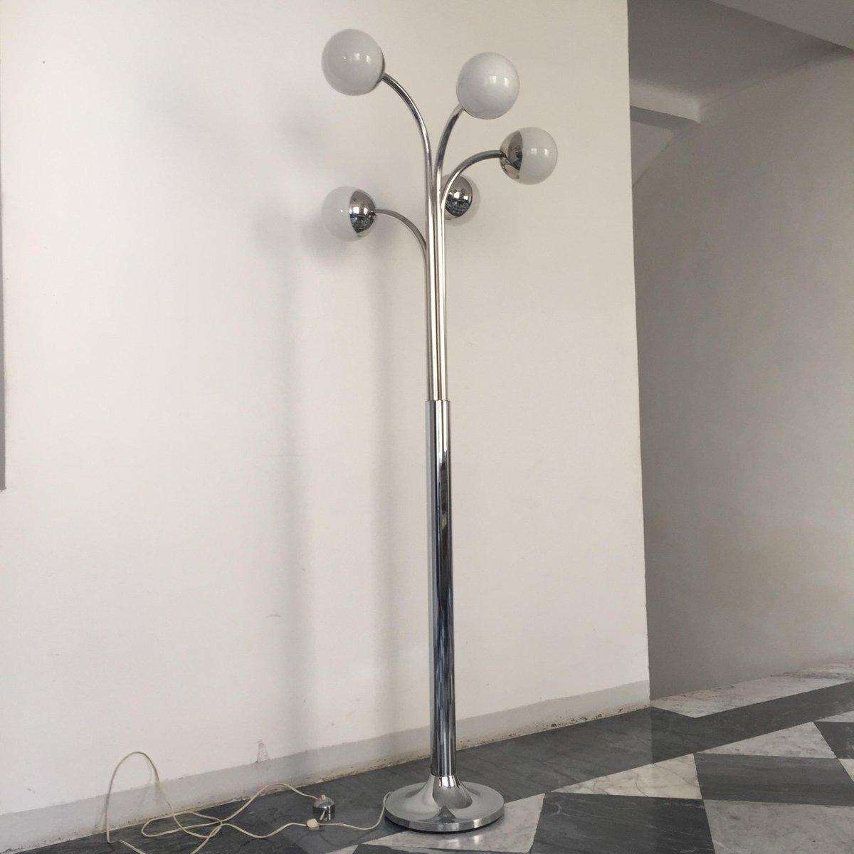 Große Stehlampe von Goffredo Reggiani, 1970er