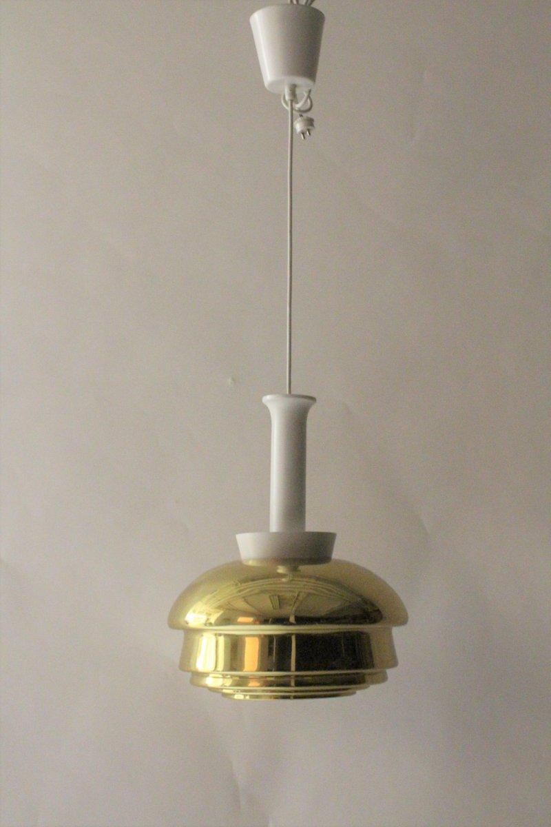 Modell A335 Deckenlampe von Alvar Aalto für Valaistustyo, 1960