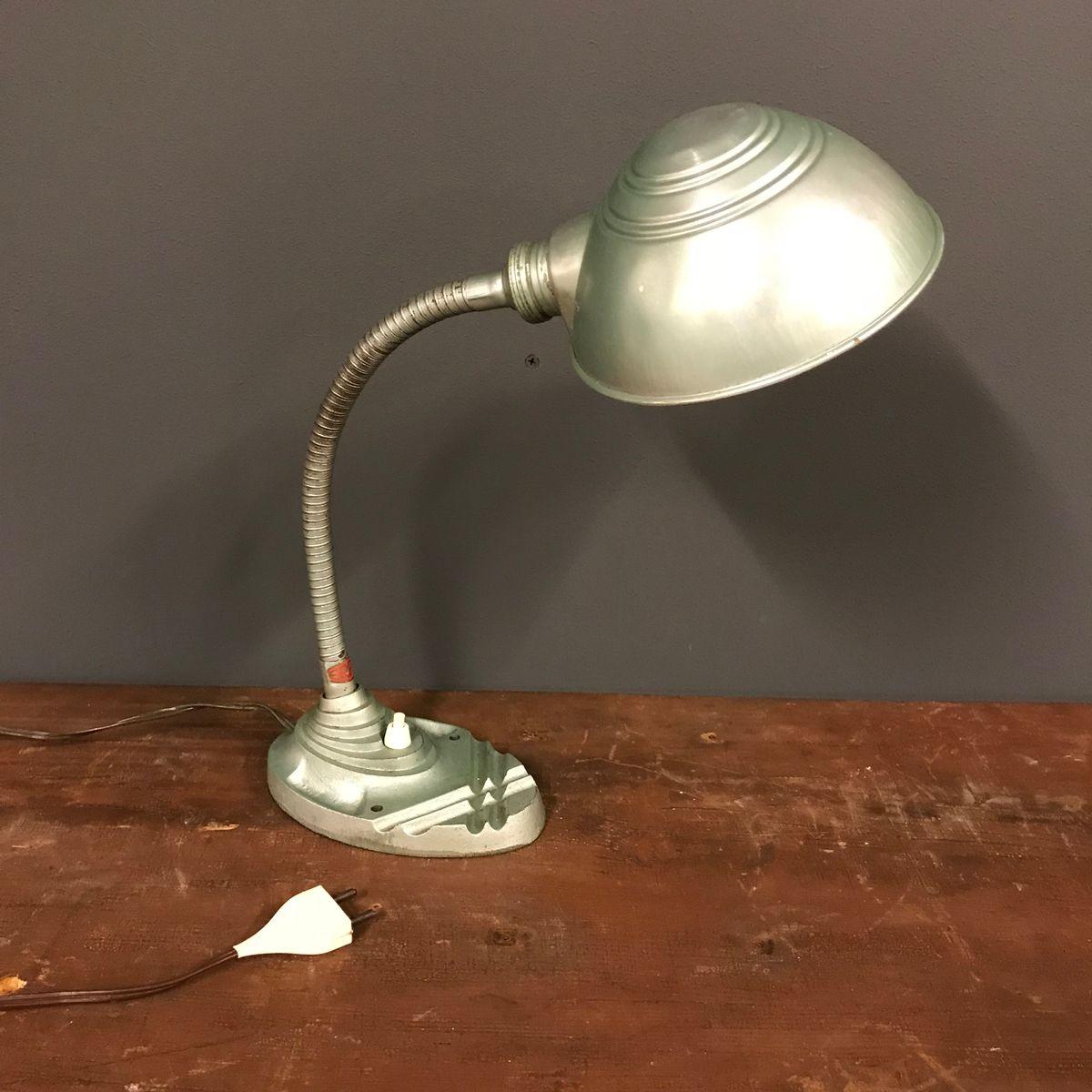 Vintage Schreibtischlampe von Erpe, 1930er