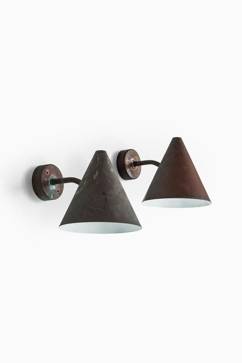 Vintage Tratten Wandlampe von Hans-Agne Jakobsson für Hans-Agne Jakobs...