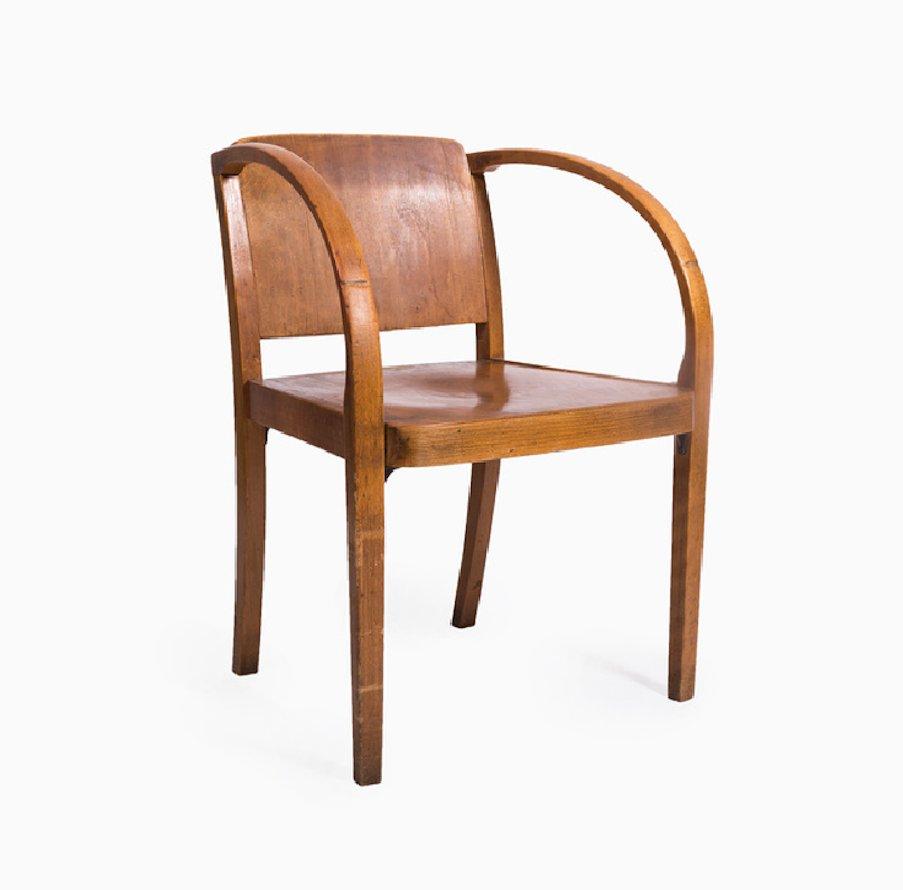 Silla de madera curvada de thonet a os 60 en venta en pamono - Sillas anos 60 ...