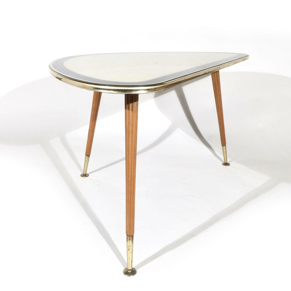 mid century messing cocktailtisch von iise m bel 1950er bei pamono kaufen. Black Bedroom Furniture Sets. Home Design Ideas