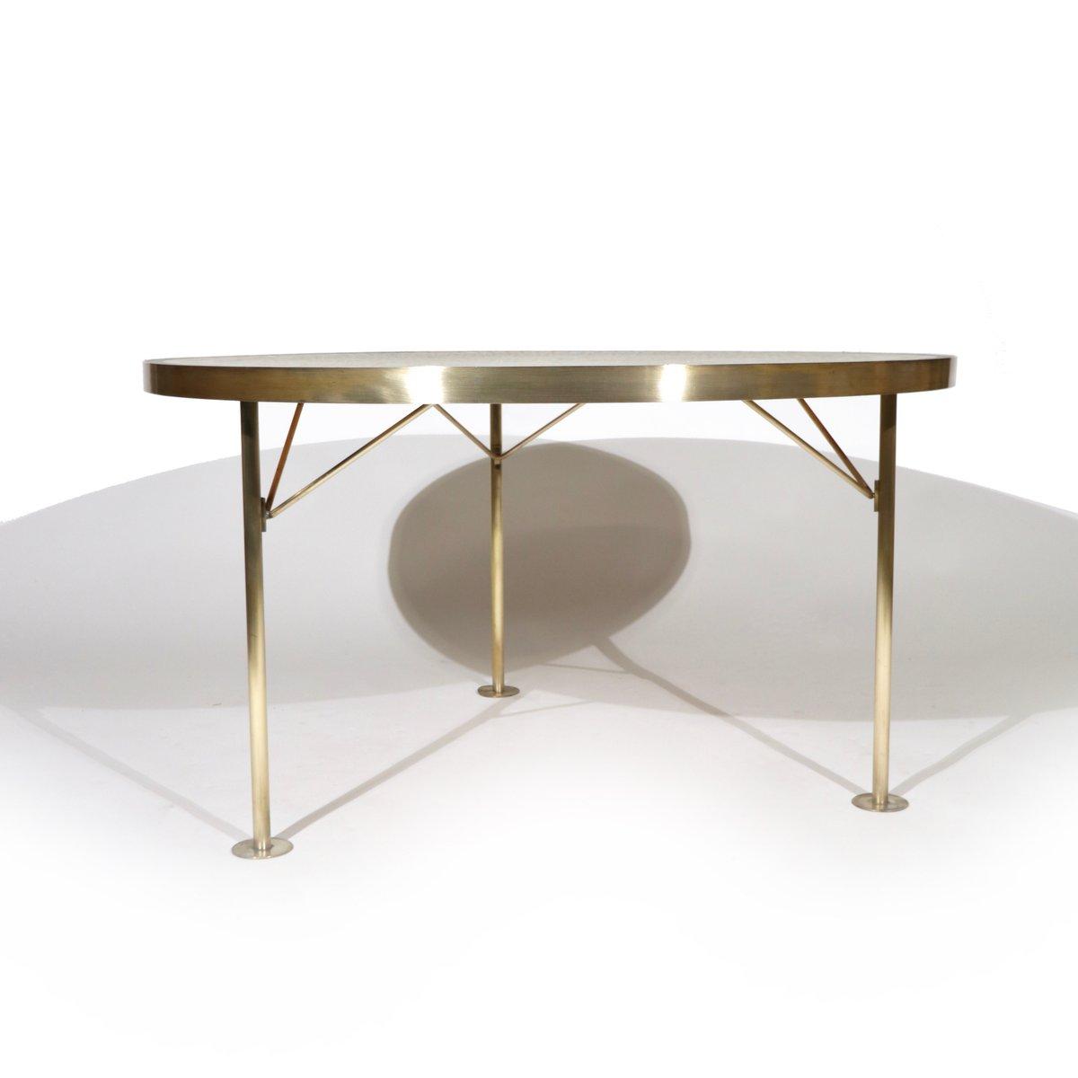 table basse avec plateau en mosa que allemagne 1950s en vente sur pamono. Black Bedroom Furniture Sets. Home Design Ideas