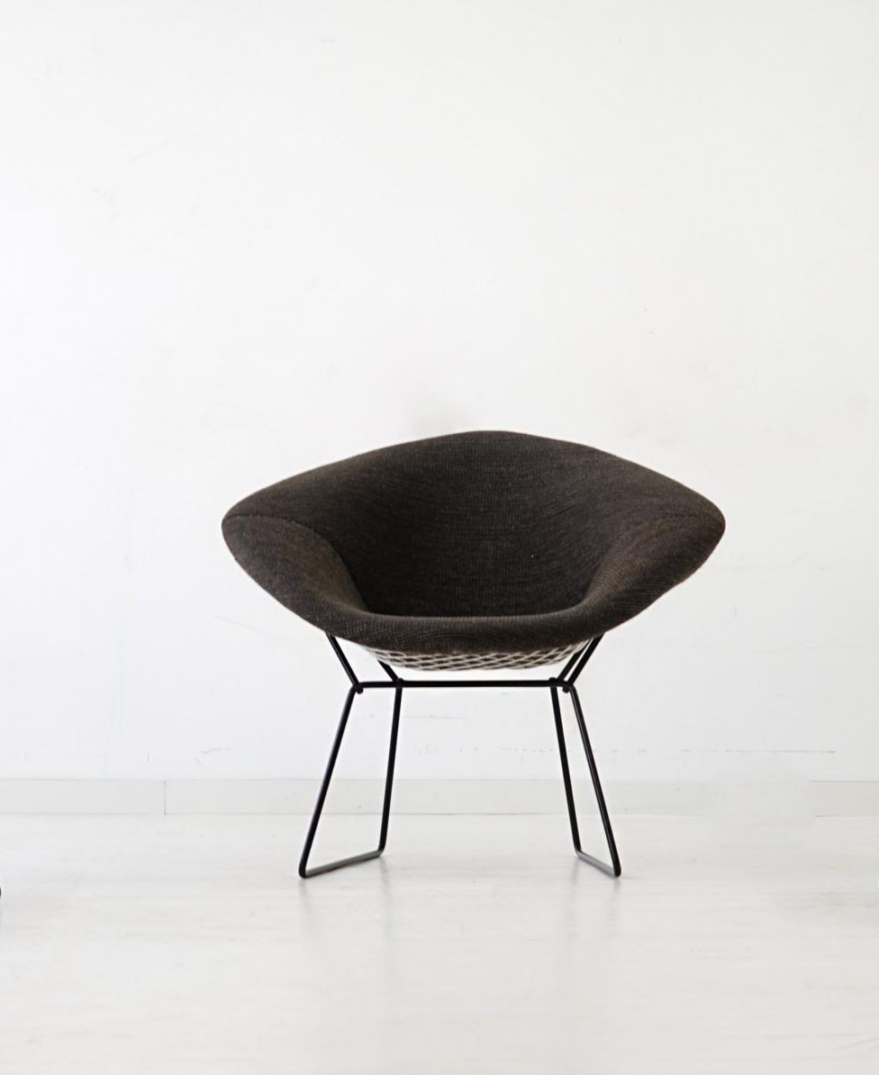 Diamond Wire Chairs by Harry Bertoia for Knoll International, 1950s ...