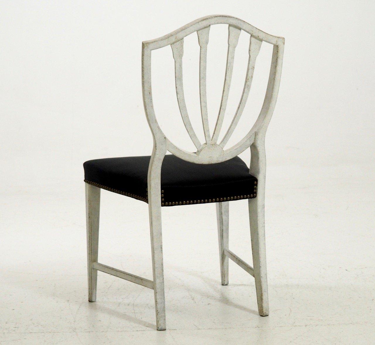 antike pferdehaar st hle 8er set bei pamono kaufen. Black Bedroom Furniture Sets. Home Design Ideas